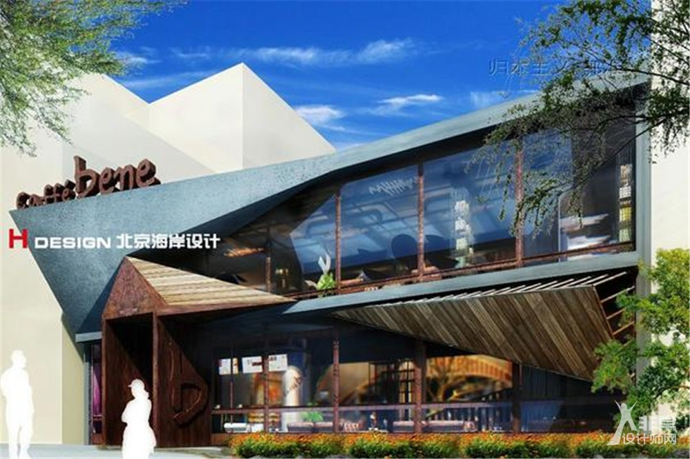北京咖啡陪你凯泰店设计案例