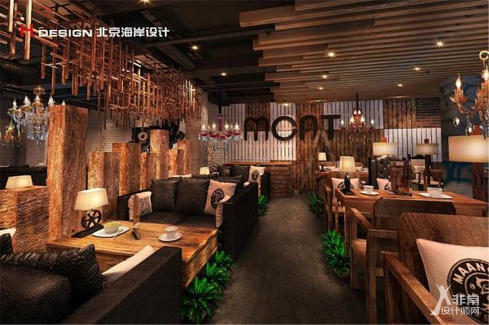 北京漫猫咖啡厅设计案例