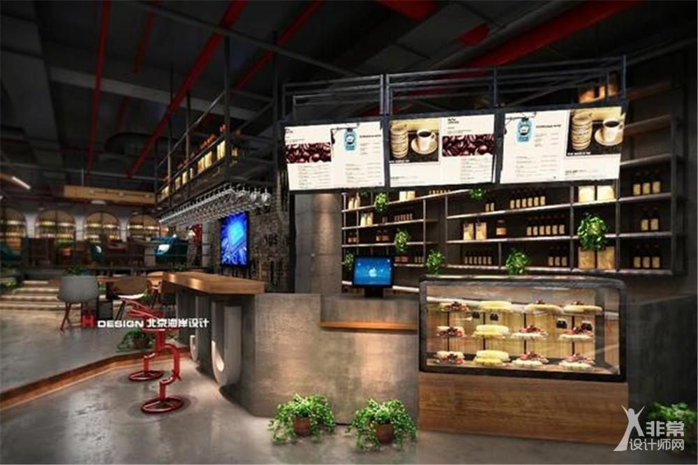 北京小菊咖啡厅设计案例