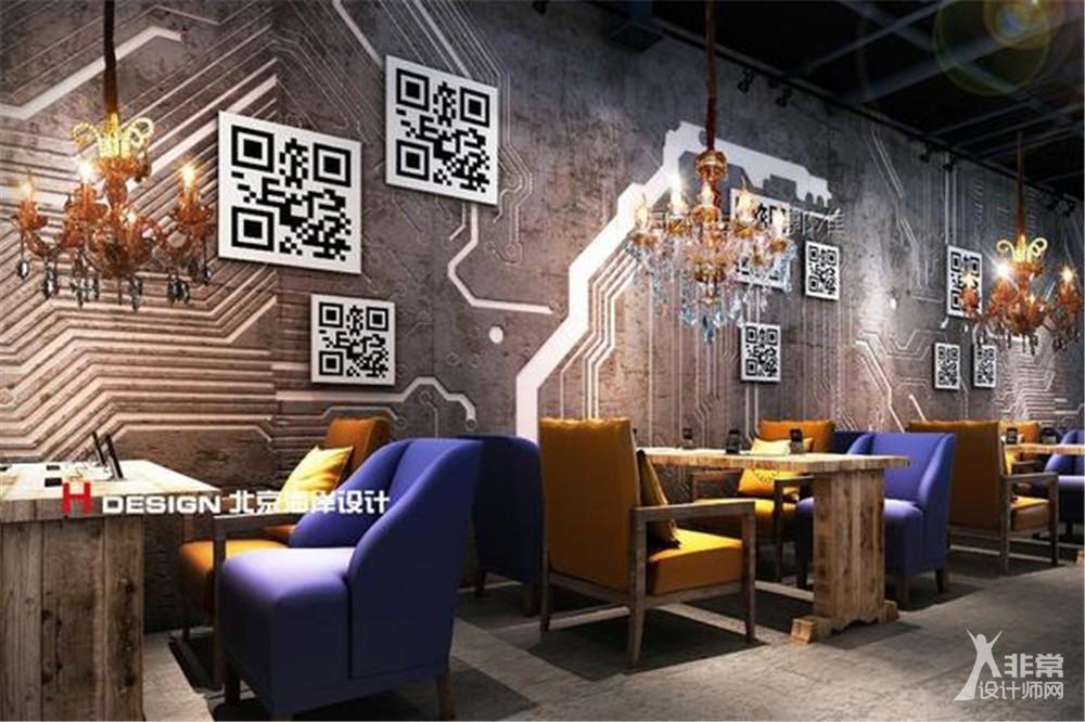 北京苏宁.云咖咖啡屋设计案例