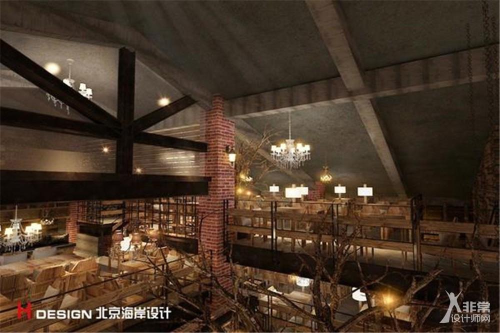 北京红砖咖啡屋设计案例