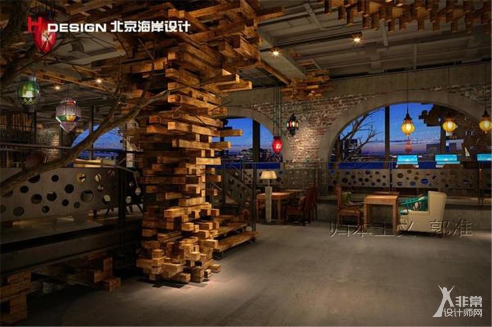 北京方桌咖啡屋设计案例