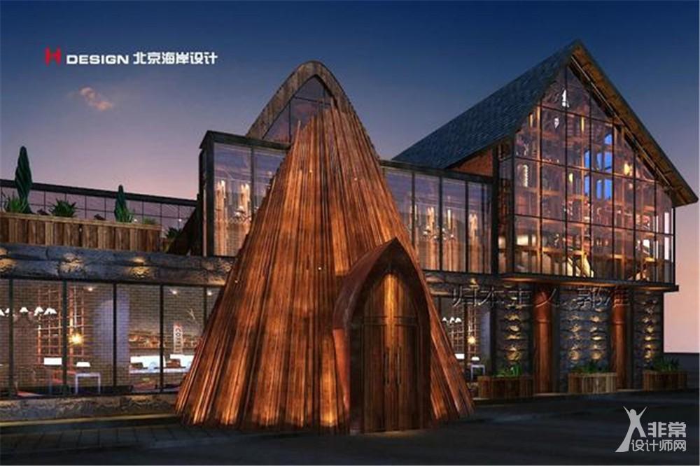 河北邢台阿里小甄咖啡屋设计案例