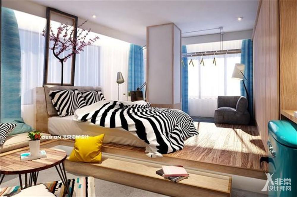 北京湾流公寓设计案例