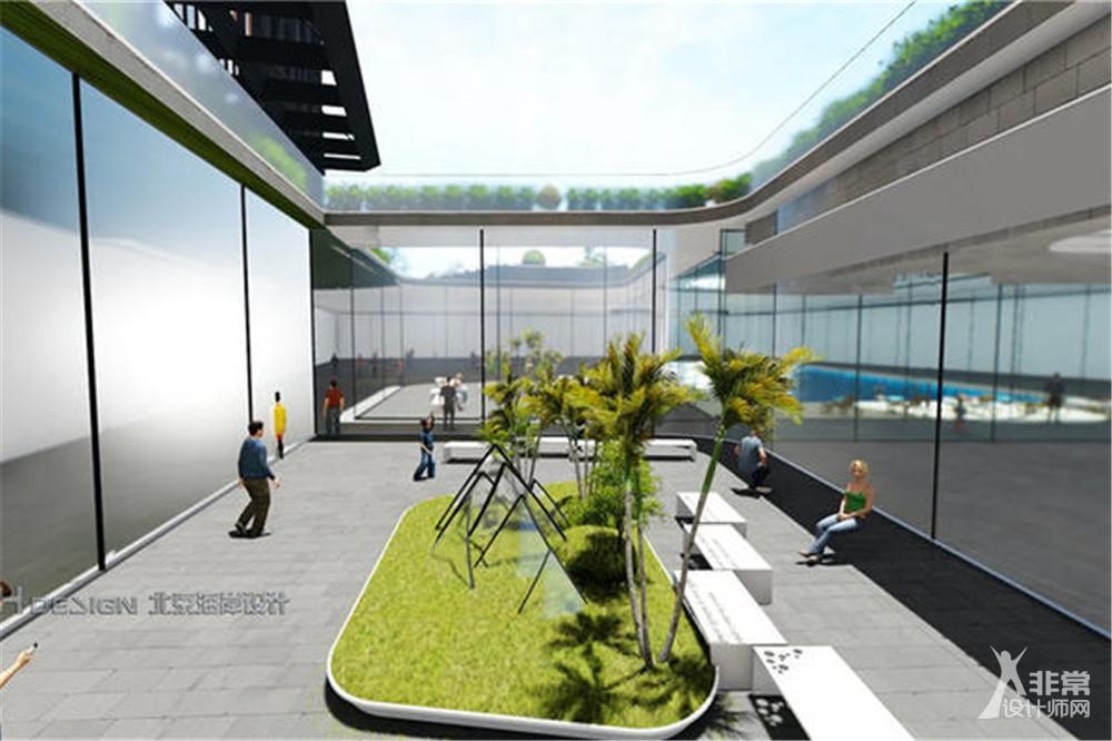 南彩酒店公寓综合体设计案例