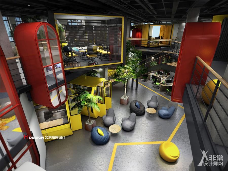 创客巢办公室空间设计