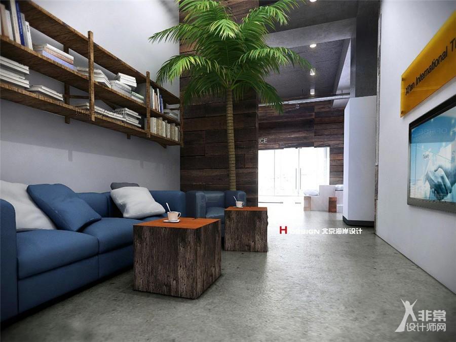 陕西西安新西兰公司办公室设计