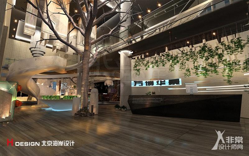 商业空间设计|万博华景售楼处