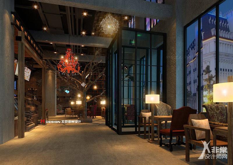 室内设计|呼和浩特乌兰察布咖啡
