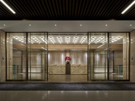 【设计投稿】朗昇最新力作:鸿荣源集团总部员工餐厅设计