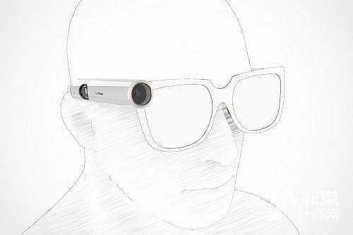 """让盲人""""看见""""东西的黑科技智能眼镜"""