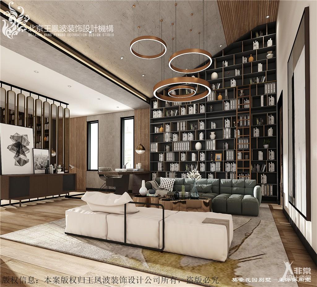 北京家装设计,莫奈花园,王凤波装饰设计