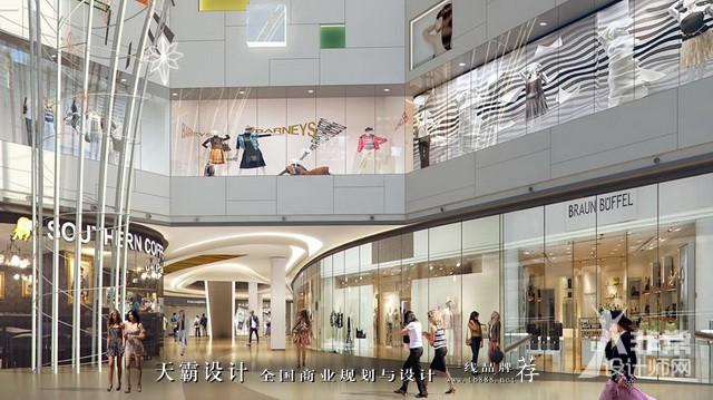 青岛卓越大融城:以海浪曲线为设计灵感,更具动感和视觉惊喜!
