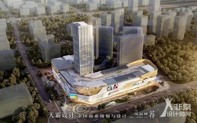 """南京江北天街以""""自然之味""""打造有氧商业空间设计方案"""