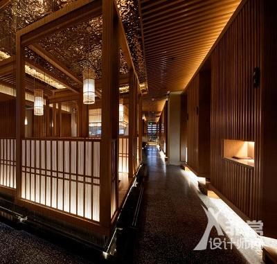 是水日本料理餐厅设计
