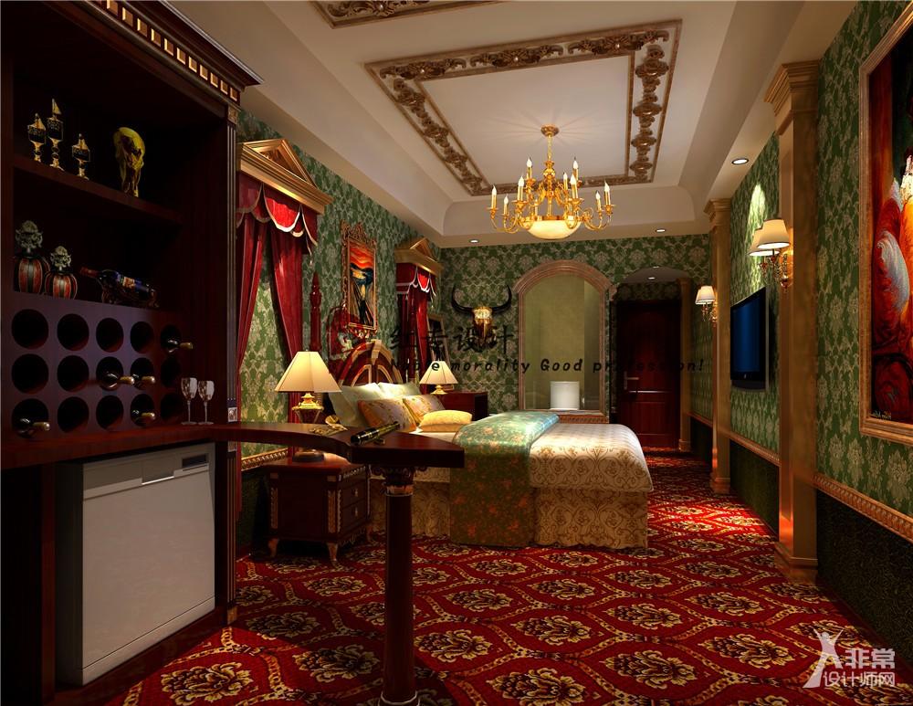 重庆主题酒店设计公司—红专设计|天域风情酒店