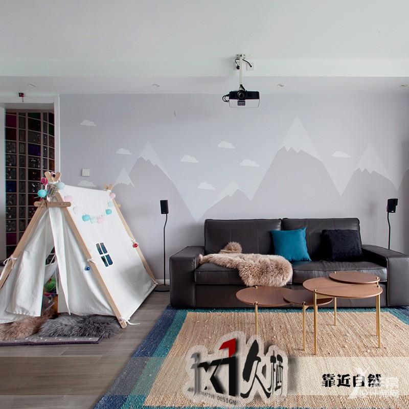 【久栖设计】北京玺萌丽苑丨靠近自然