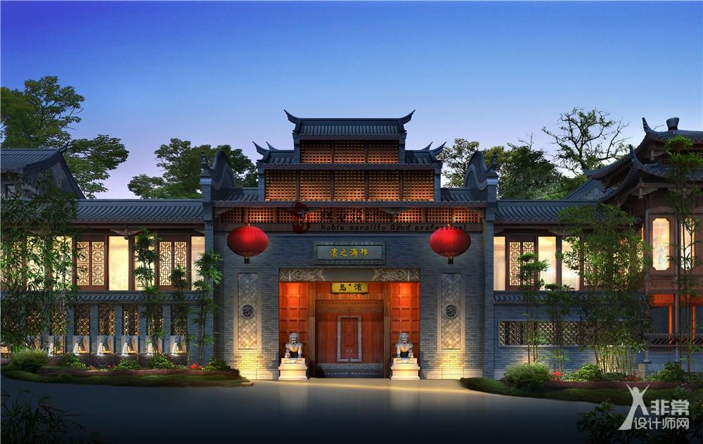 重庆专业酒店设计—红专设计|琼海之滨酒店