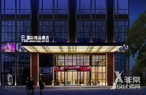 西南精品酒店设计——红专设计|遵义E·国际精品酒店