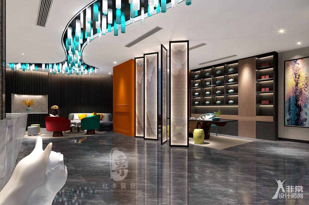 成都精品酒店设计——红专设计 莱美城市精品酒店