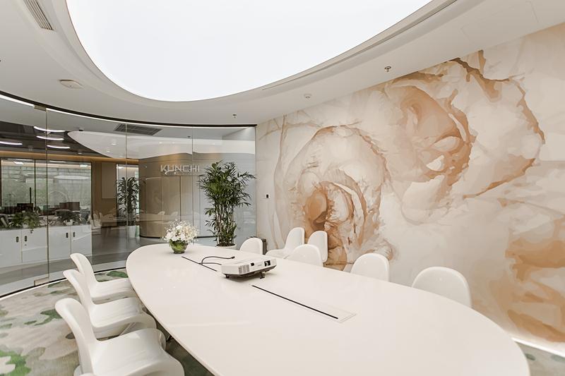 上海鲲驰办公楼室内设计——流动的旋律