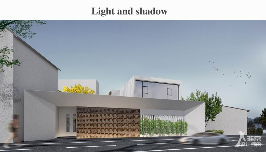 HCL林志豪设计的白房子寄放着思乡情愫