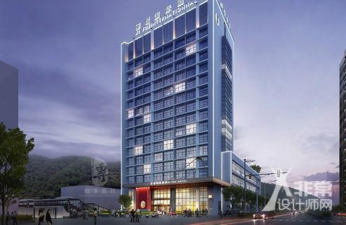 成都星级酒店设计—红专设计 遵义玺.悦国际酒店