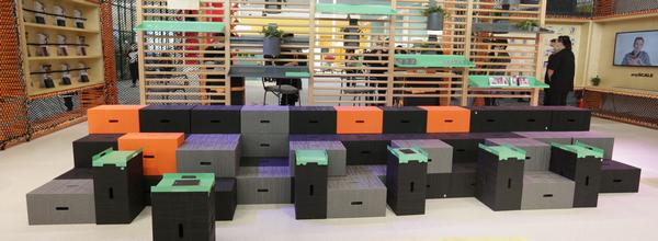 """玛祖铭立:百变工作方式 让家具在空间中""""运动""""起来"""