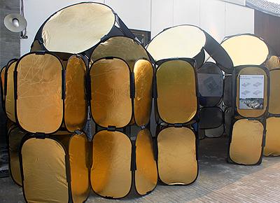 """2013北京国际设计周-大栅栏四合院""""圈.泡.棚"""""""