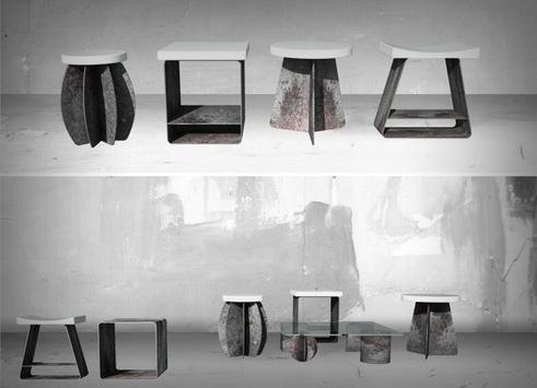 """北京国际设计周-""""一二三五零""""中式板凳"""