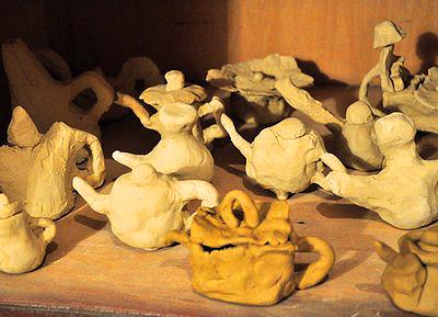 2013北京国际设计周-泥塑