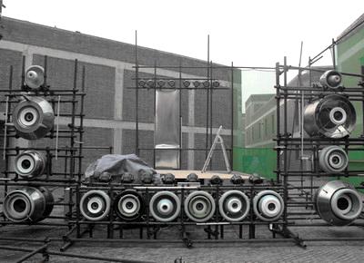 2013北京国际设计周-草场地临时建筑设计展